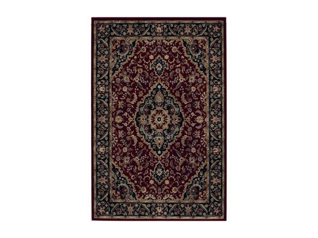 "Shaw Living Accents Antiquity Area Rug Garnet 1' 11"" x 3' 1"" 3X80700800"