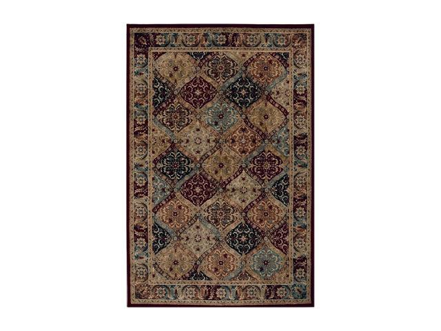 "Shaw Living Accents Mayfield Area Rug Multi 1' 11"" x 7' 6"" 3X80817440"
