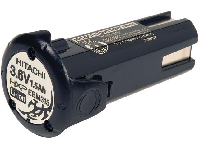 Hitachi EBM315 3.6-Volt Lithium-Ion 1.5 Ah Battery