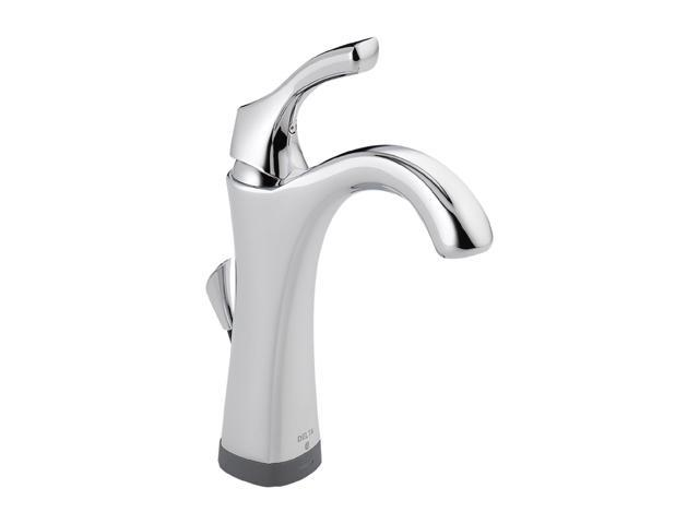DELTA 592T-DST Single Hole Addison Single Handle Lavatory Faucet with Touch2O.xt Technology Chrome