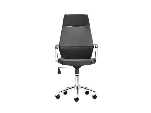 Zuo Modern Holt Holt High Back Office Chair Black PU
