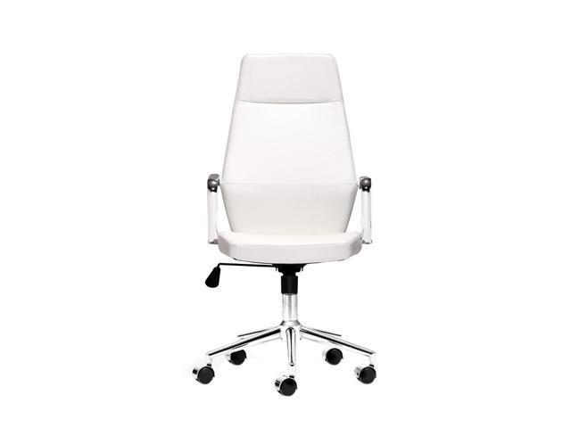 Zuo Modern Holt Holt High Back Office Chair White PU