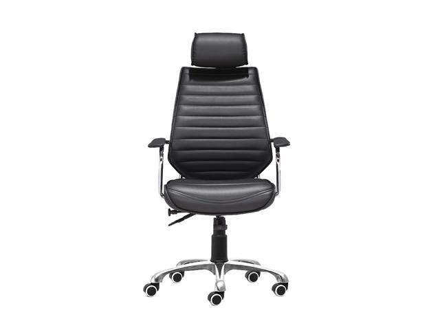 Zuo Modern Enterprise Enterprise High Back Office Chair Black