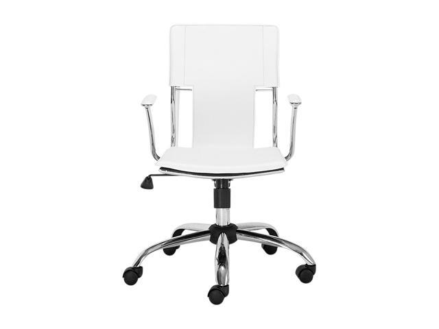 Zuo Modern 205182 Trafico Office Chair White