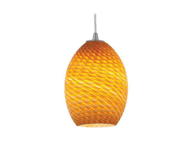 Access Lighting FireBird Ostrich Glass Shade - Amber Fire Bird Glass 23123-AMBFB