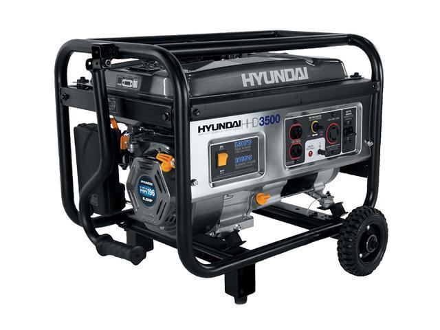 Hyundai HHD3500 3500W 6.5HP Portable Generator