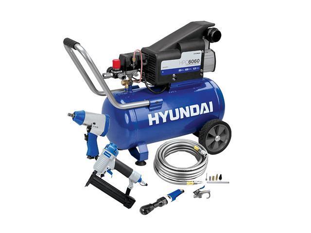 Hyundai HPC6060 6GAL Air Compressor Kit