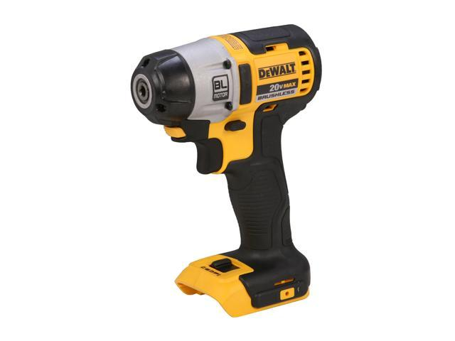 "DEWALT DCF895B 20V Max Lithium Ion 1/4"" Brushless 3-Speed Impact Driver (Tool Only)"