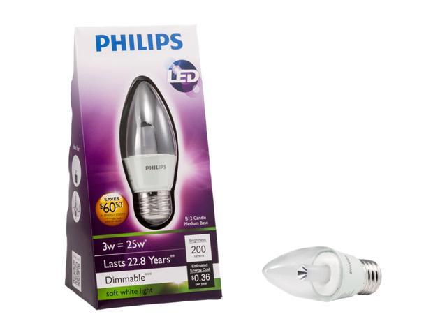 Philips 421024 25 Watt Equivalent LED Light Bulb