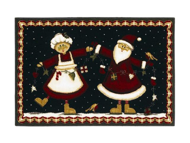 Shaw Living Holiday Collection Mr. And Mrs. Area Rug Multi 2' 7