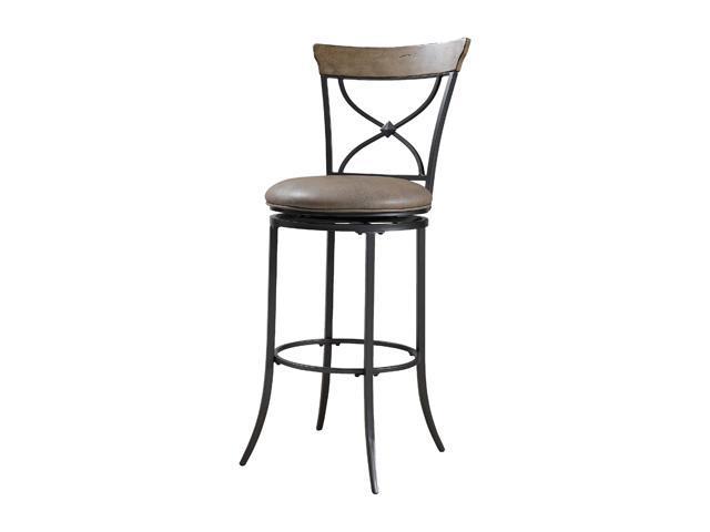 Hillsdale Furniture Charleston Swivel (X-back) Bar Stool