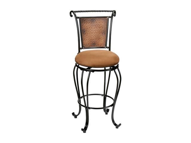Hillsdale Furniture Milan Swivel Counter Stool Copper