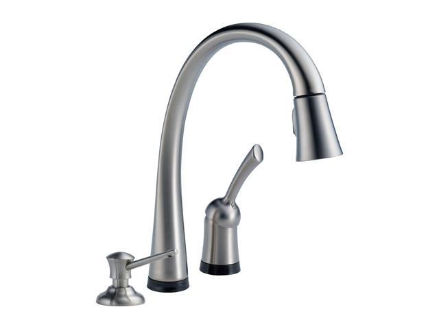Delta 980t Ar Dst Single Handle Pull Down Kitchen Faucet