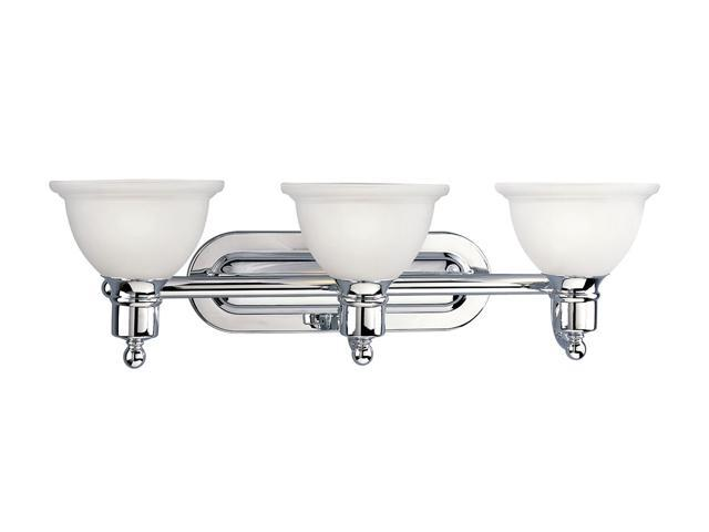 Progress Lighting Polished Chrome 3-Light Bath Bracket