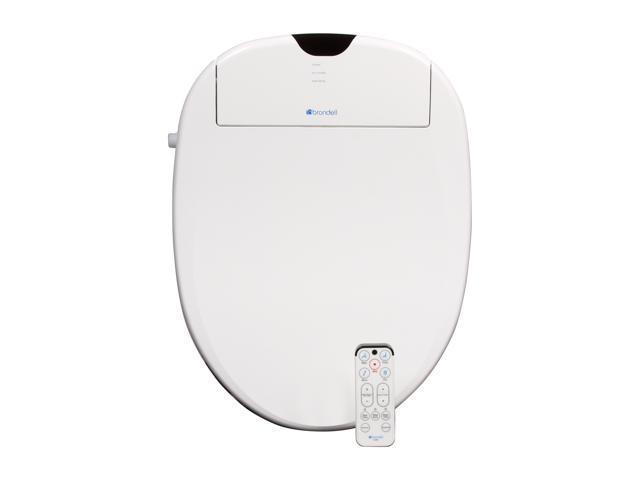 Brondell S1000-EW Swash 1000 Advanced Bidet Toilet Seat-Elongated, White