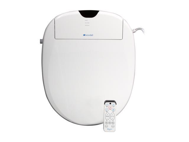 Brondell S1000-RW Swash 1000 Advanced Bidet Toilet Seat-Round, White