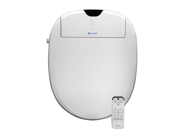 Brondell S900-RW Swash 900 Advanced Bidet Toilet Seat-Round, White