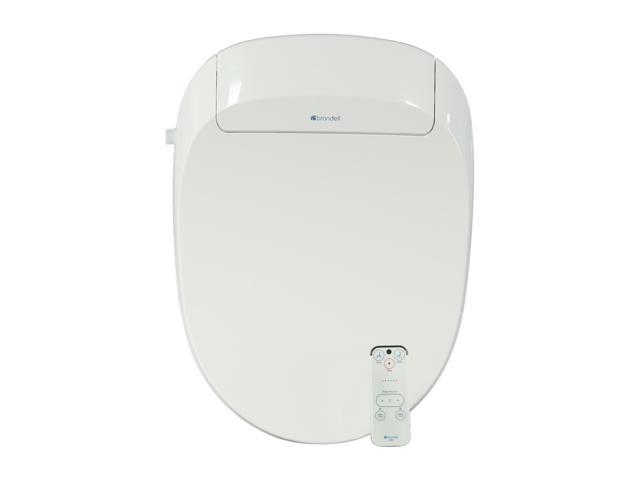 Brondell S300-EW Swash 300 Advanced Bidet Toilet Seat-Elongated, White
