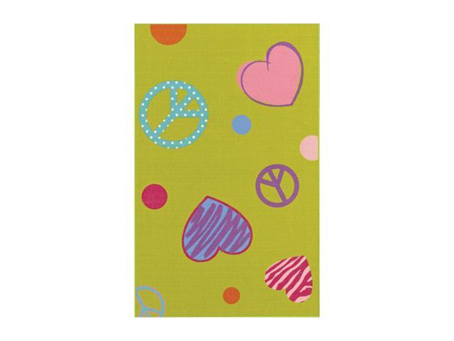 "DALYN 4-EVER YOUNG Rug Lime 3'3""X5' FV3LI3X5"