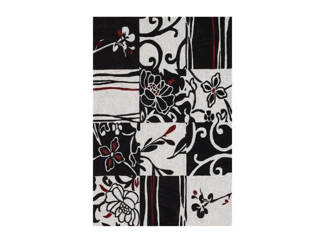 DALYN STUDIO Rug Black 8' x 10' SD20BK8X10
