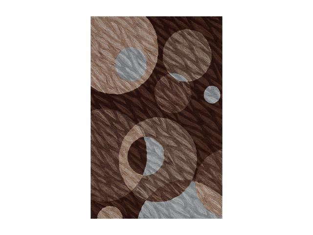 DALYN STUDIO Rug Chocolate 3' 6