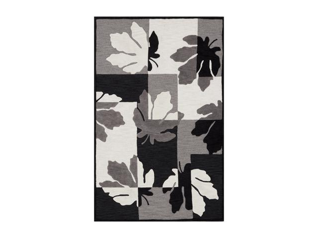 "DALYN STUDIO Rug Black 3' 6"" x 5' 6"" SD310BK4X6"