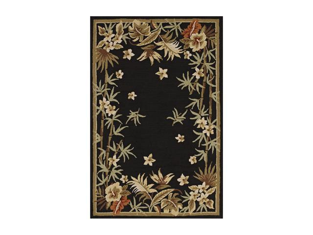 "DALYN Terrace Rug Black 5' x 7' 6"" TE3BK5X8"