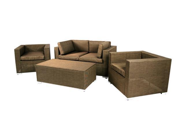 Sinochem Ningbo Bronze Sofa Set