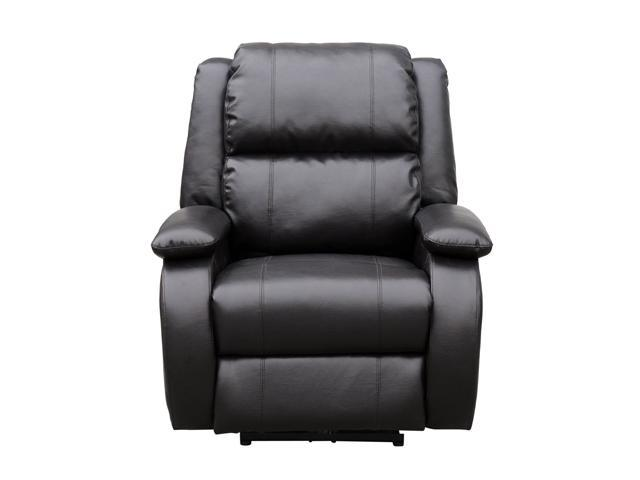 Turnda Leather Power Recliner with Shiatsu Massage