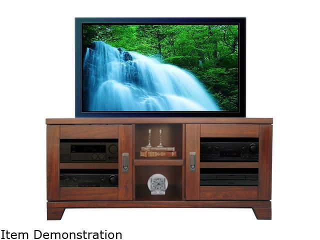 "Turnda Galloway GL4452A Transitional 52"" Dark Walnut TV Console"
