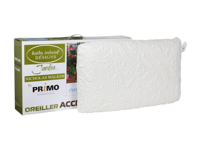 Primo International Acclaim Queen Size Gel Pillow w/Sleep Cool Open Cell Memory Foam Technology