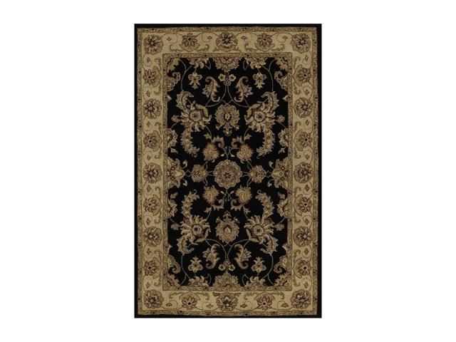 DALYN JEWEL Rug Black 5' x 8' JW1787BK5X8