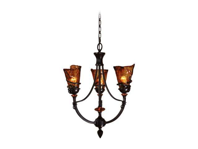 Uttermost Vitalia 3 Light Chandelier Oil-rubbed bronze 21226