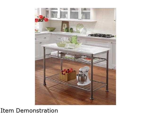 Home Styles 5060-94 Orleans Kitchen Island with Marble Top