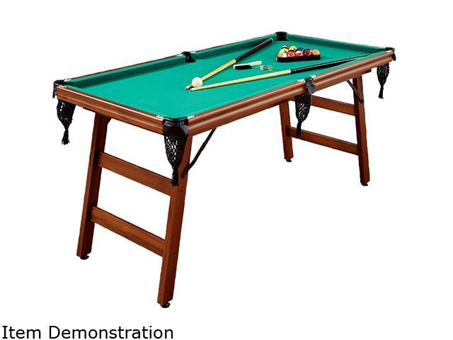 Home styles 5967 98 the real shooter 6 foot pool table for 10 foot billiard table