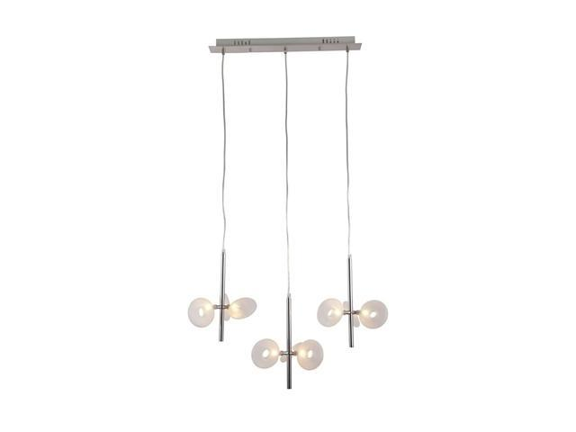 Zuo Modern Twinkler Ceiling Lamp Chrome 50076