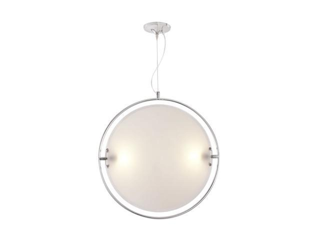 Zuo Modern UFO Ceiling Lamp Chrome 50078