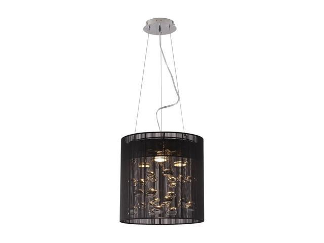 Zuo Modern Subatomic Ceiling Lamp Black 50084