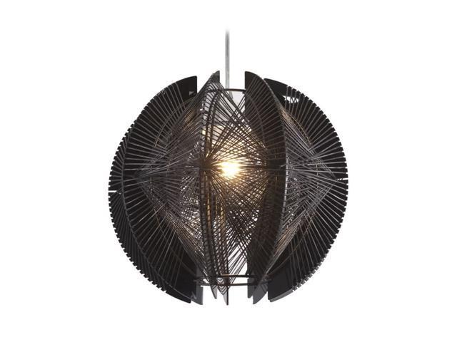 Zuo Modern Centari Ceiling Lamp Black 50095