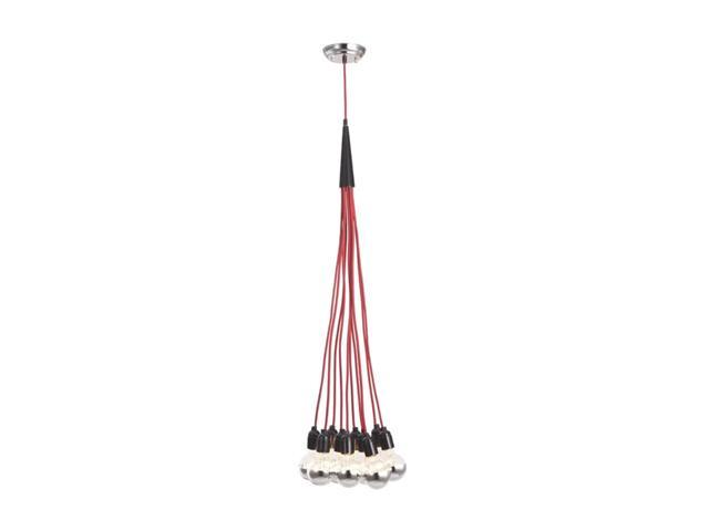 Zuo Modern Nimbus Ceiling Lamp Red 50108