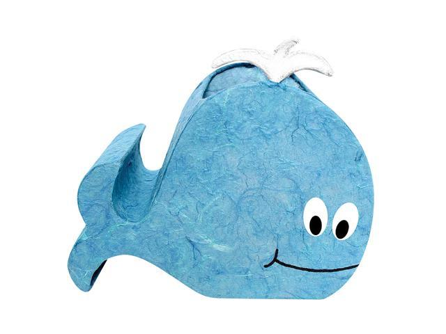 LumiSource Willy the Whale Night-Time Pals Lamp Blue