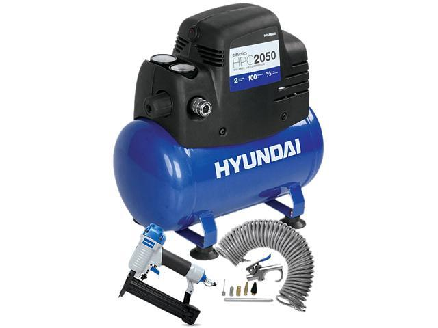 Hyundai HPC2050 2 Gal Air Compressor Kit