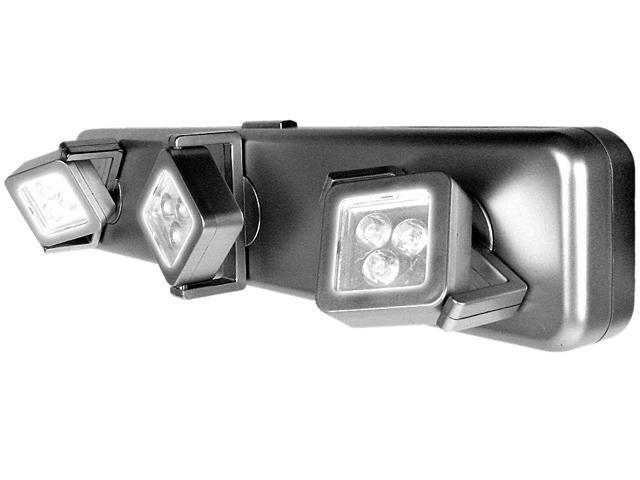 Trademark 72-37056 Under Cabinet Light Fixture 3 Light heads - 9 Bright LEDs