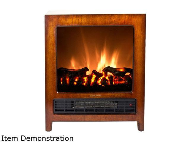 Frigidaire KSF-10301 Kingston Wooden Floor Standing Electric Fireplace