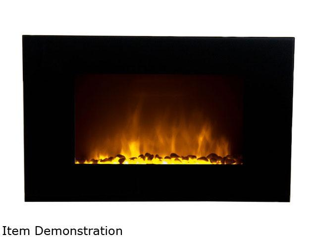 Frigidaire OWF-10303 Oslo Wall Hanging LED Fireplace with Color-Changing Flame Effect