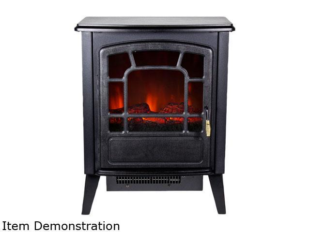 Frigidaire RSF-10324 Bern Retro Style Floor Standing Electric Fireplace
