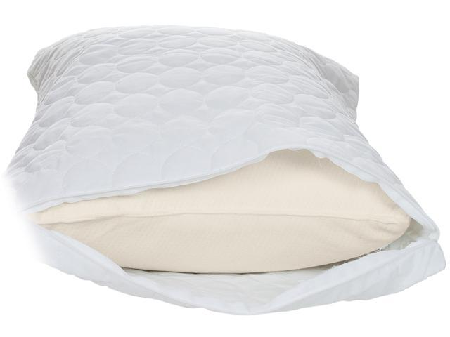 Remedy cotton bed bug and dust mite pillow protector for Best dust mite pillow protectors