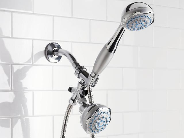 Sunbeam SM10274 Deluxe Dual Head Shower Massager - Newegg.com