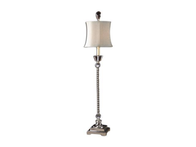 Uttermost Carolyn Kinder Sherise buffet lamp Silver
