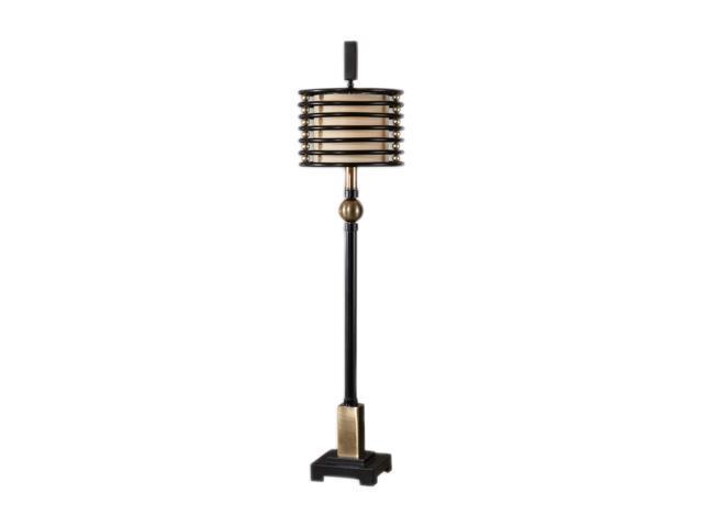 Uttermost Carolyn Kinder Revolution lamp Black